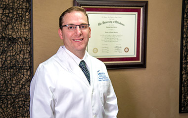Dr. Warren will provide you with friendly, caring treatment.