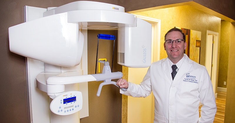 We use 3D panoramic x-ray machines so the doctor will have an exact detailed image of your teeth and jaw.
